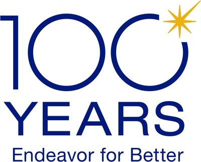 100 years Endeavor for Better
