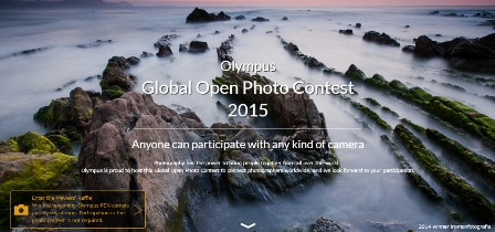 Olympus Global Open Photo Contest 2015 Website