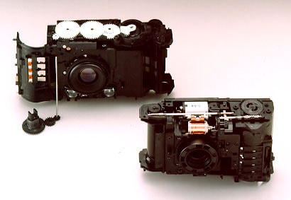 gear drive(left) and shaft drive(right)