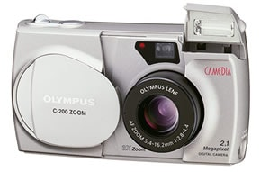 CAMEDIA C-200ZOOM FRONT