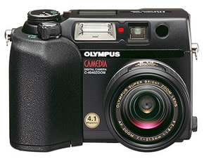 CAMEDIA C-4040ZOOM FRONT