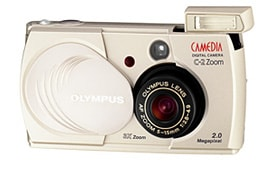 CAMEDIA C-2Zoom FRONT