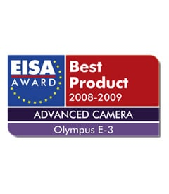 "The ""European Advanced Camera 2008-2009"" award"