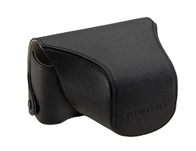 Genuine Leather Front & Body Case CS-13FBCBLK (Black)