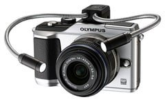 Image of MAL-1 Macro Arm Light installed on OLYMPUS PEN E-PL2