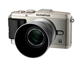 Image of M.ZUIKO DIGITAL 45mm f1.8 mounted on OLYMPUS PEN E-P3 camera
