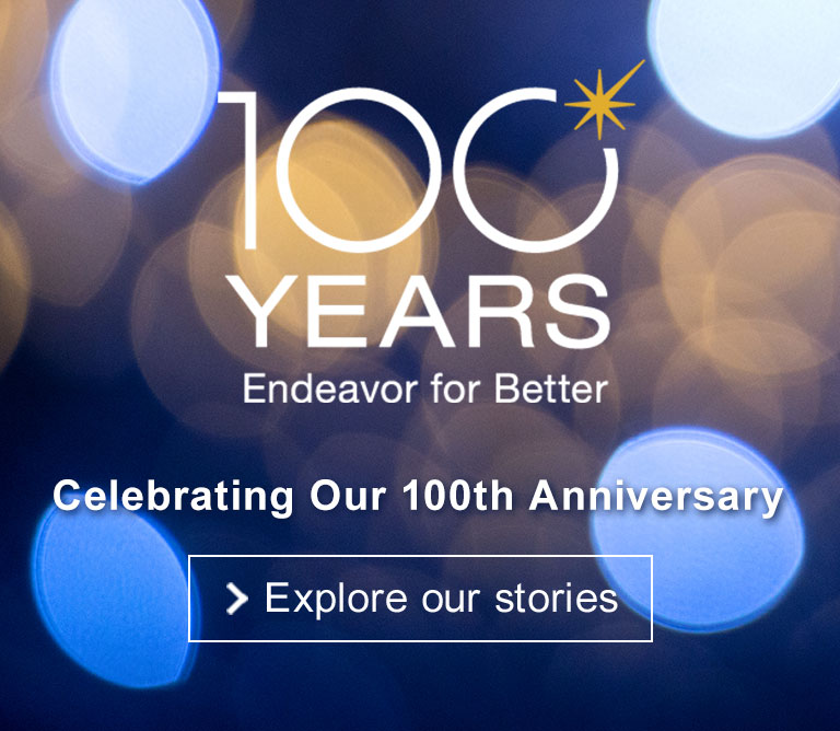 Celebration Our 100th Anniversary.